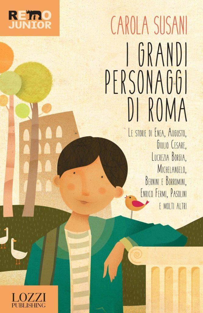 Book Cover: I grandi personaggi di Roma