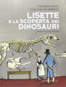 Book Cover: Lisette e la scoperta dei dinosauri
