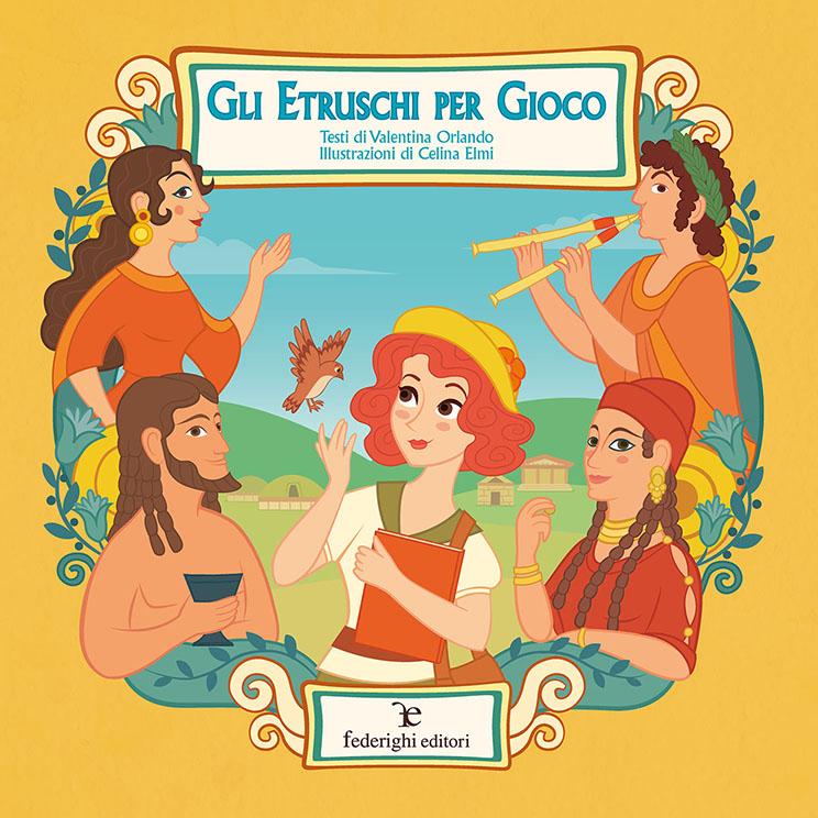 Book Cover: Gli Etruschi per gioco