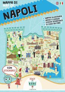 Book Cover: Mappa di Napoli illustrata