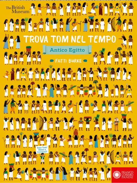 Book Cover: TRova Tom nel tempo. Antico Egitto