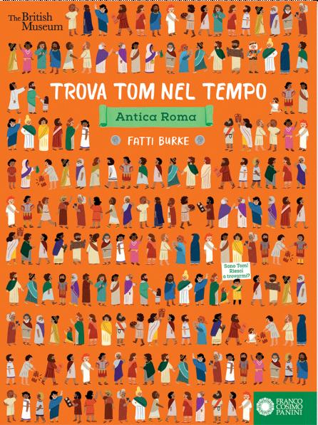 Book Cover: Trova Tom nel tempo. Antica Roma